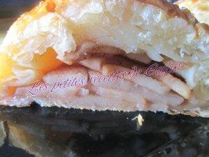 Feuilletée pomme poire cannelle29