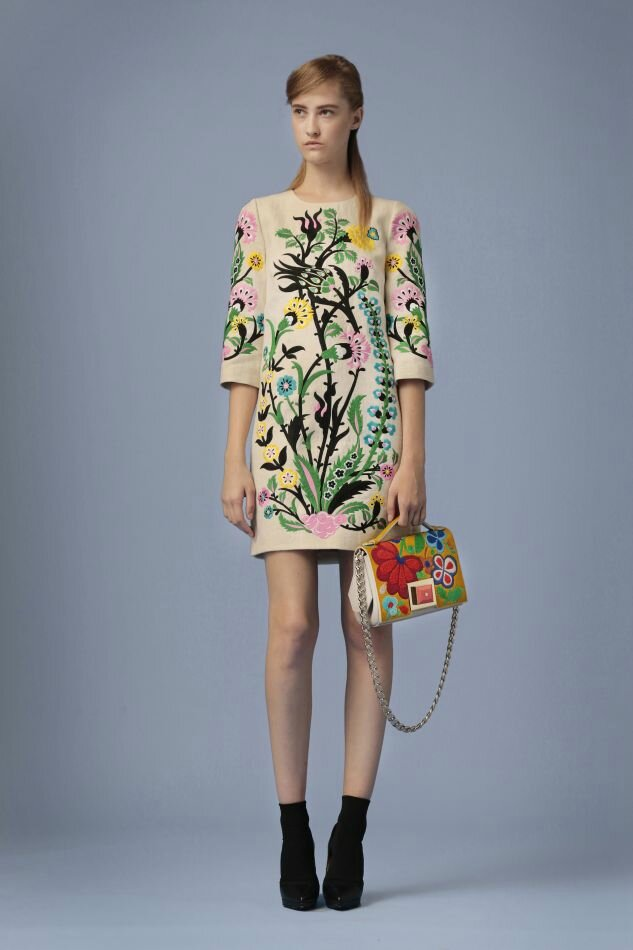 Andrew GN, « Persian Garden », Pre Spring 2016 collection