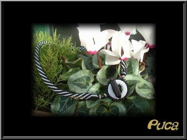 Spirale noire et blanche