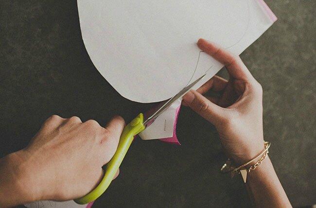 des roses géantes en papier crépon  - blogs créatifs, le mag !