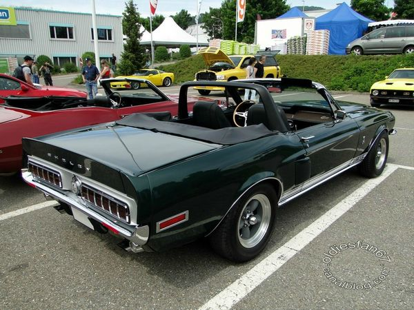 shelby gt500 convertible 1968 4