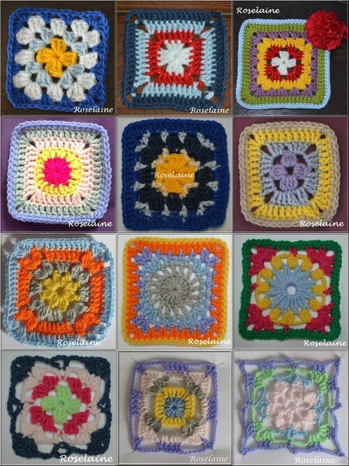 Granny Square Simply Crochet