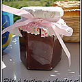 Pâte à tartiner au chocolat et à la noisette