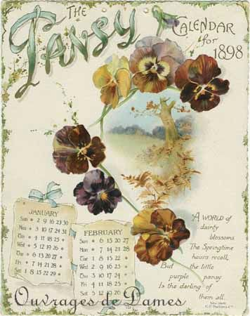 calendrier pansy