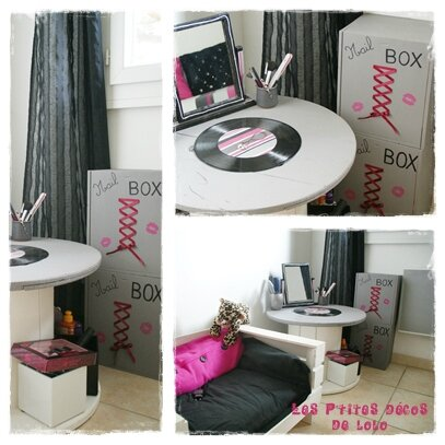 Diy d co chambre d 39 ado des nailbox les p 39 tites d cos for Idee deco utile