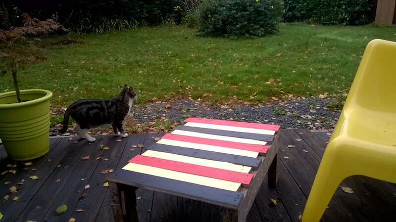 Table basse recup