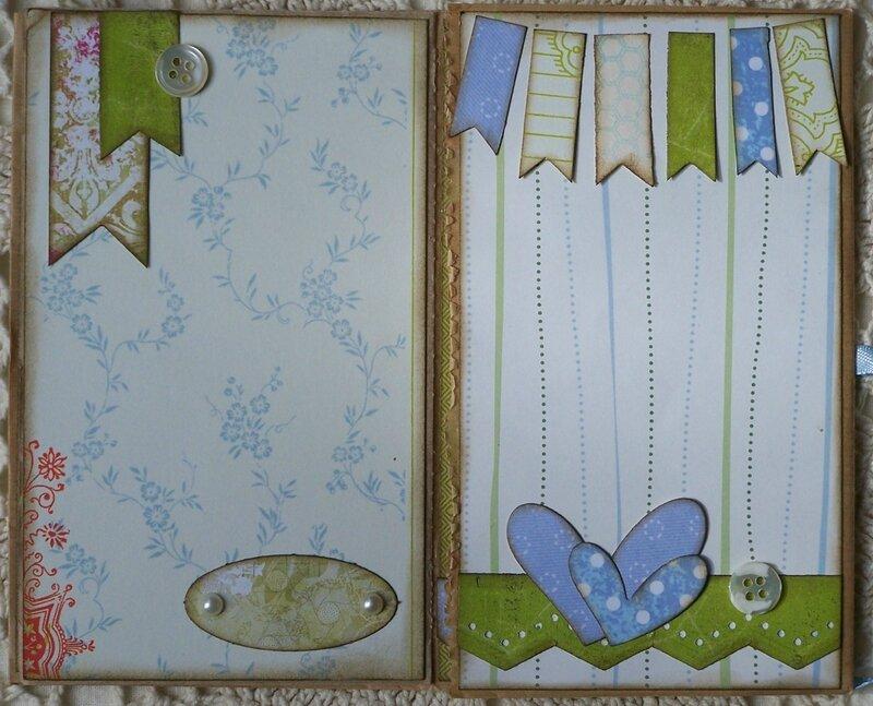 Papillon bleu pages 6 et 7