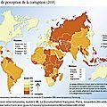 La corruption gangrène toujours la planète