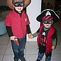 cowboy et pirate