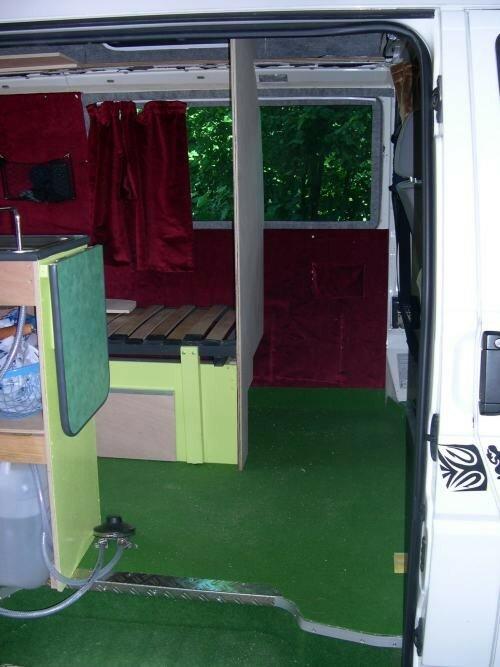 Accessoires am nagement t4 volkswagen en camping car for Moquette imputrescible