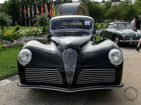 Alfa Romeo 6c 2500 ss bertone 1942 Internationales Oldtimer Meeting Baden Baden 2011 1
