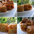 Cake chorizo & pesto