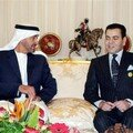 Rabat, November 23, 2006 – His Royal Highness Prince Moulay Rachid received Abu Dhabi Crown Prince HH Sheikh Mohamed Ben Zayed Al Nahyane.