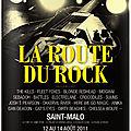 On the road to la route du rock 2011