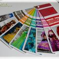 mini palette de couleurs du peintre d'Armance