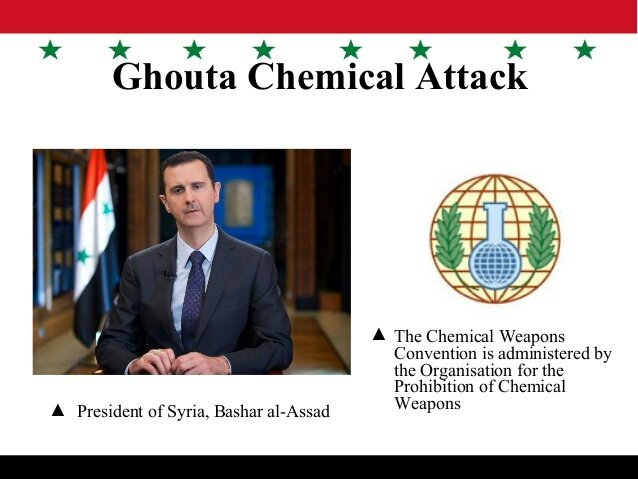 Bachar al Assad and chemical attack