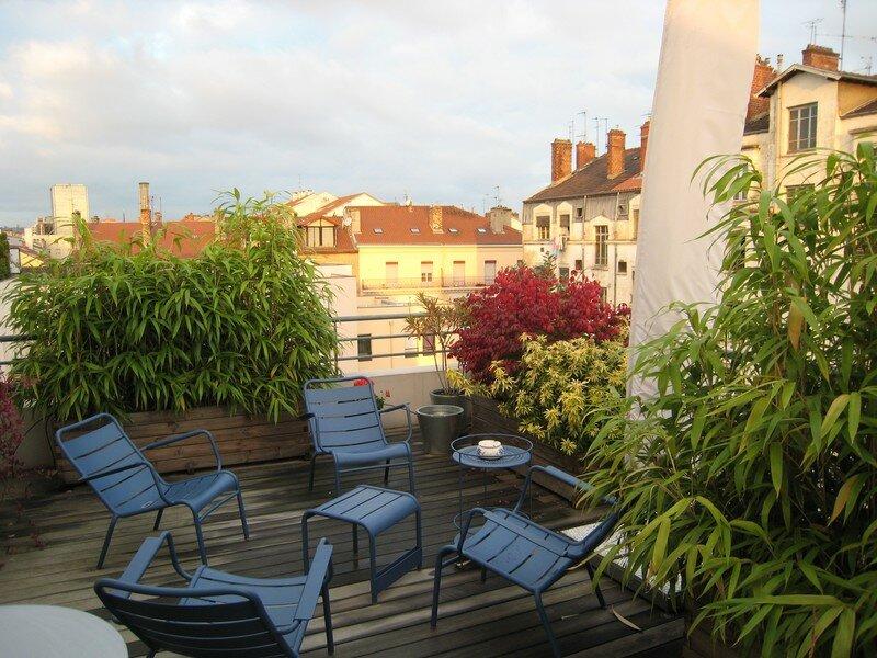 Toit Terrasse Lyon : vente maison sur toit lyon 3eme 0664403643