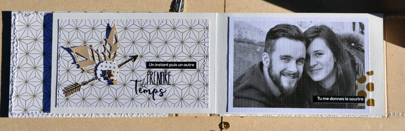 mini page#2-chou&flowers-claire-scrapathome