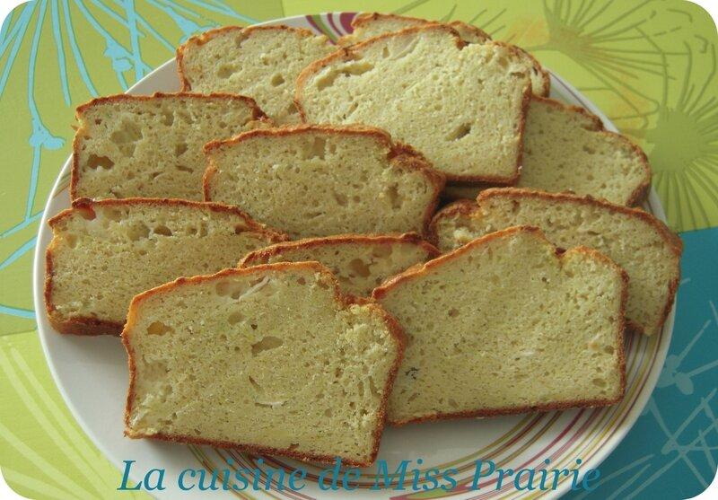 Cake aux courgettes, chèvre et boursin
