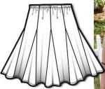 Wild Lily and Lace - Bonnie Godet Skirt