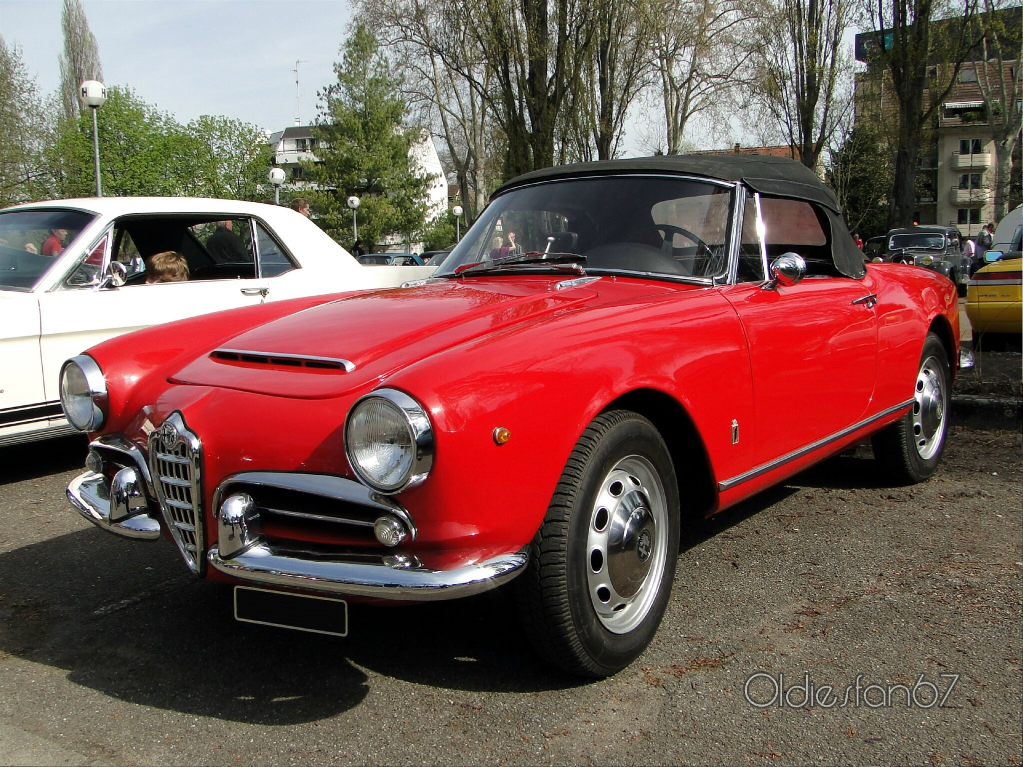 alfa romeo giulietta spider 1955 oldiesfan67 mon blog auto. Black Bedroom Furniture Sets. Home Design Ideas