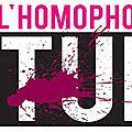 L'homophobie tue...