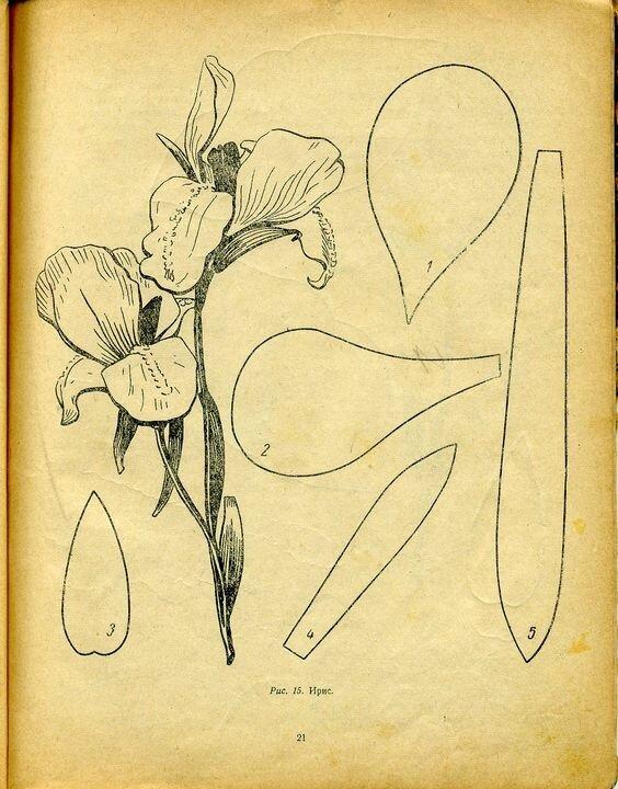 Fleurs de tissus (1)