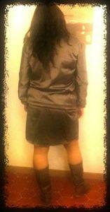 robe dos