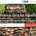 Vinizos, une plateforme de tourisme viticole !