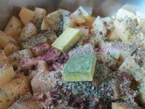 Crème de carottes et pommes de terre aux herbes41