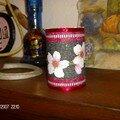 Pot pour crayons (bte de conserve)