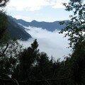 brume dans la vallée du Lutour