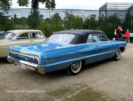 Chevrolet Impala convertible de 1964 (9ème Classic Gala de Schwetzingen 2011) 02