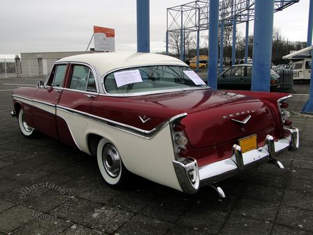 desoto fireflite 4door sedan 1956 salon champenois vehicule collection reims 2011 2