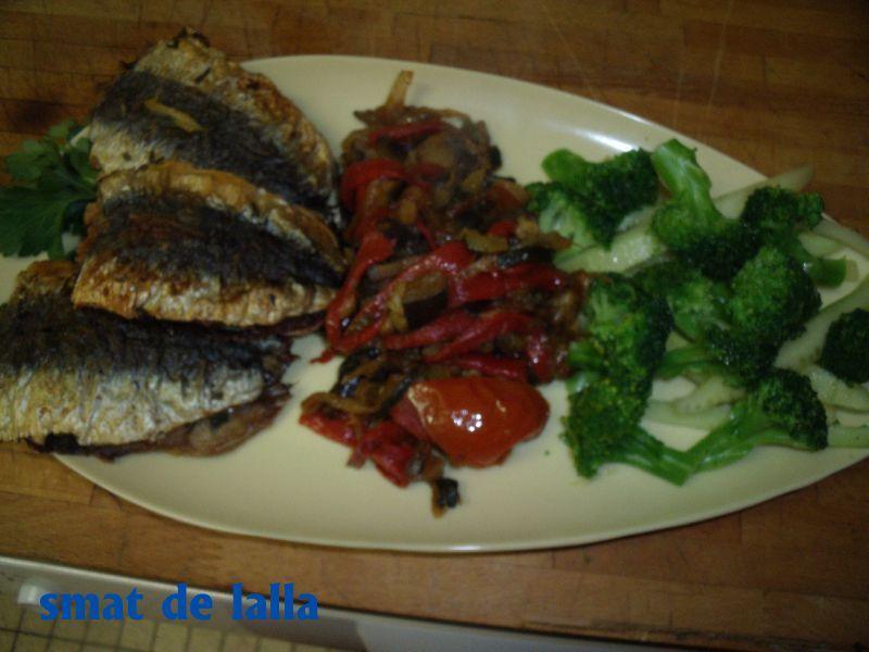 Sardine mariee au four smat de lalla - Sardines au four sans odeur ...