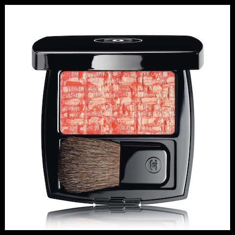 chanel blush duo les tissages tweed coralline