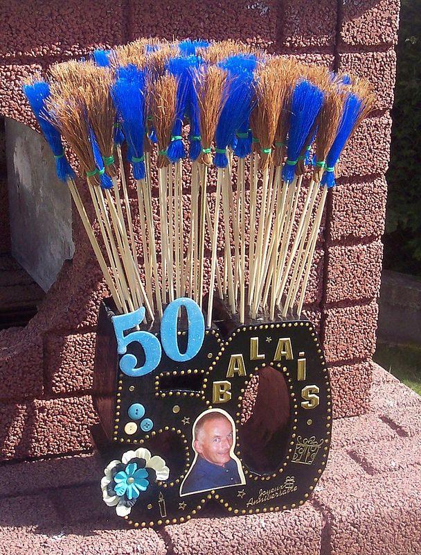 50 balais anniversaire