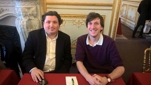 César Armand et Romain Bongibault