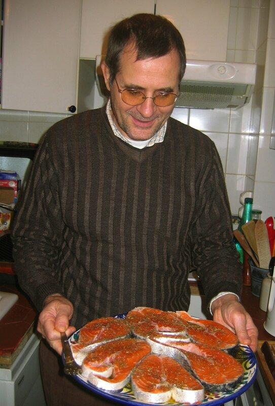 Daniel à la cuisine 23 oct 2005