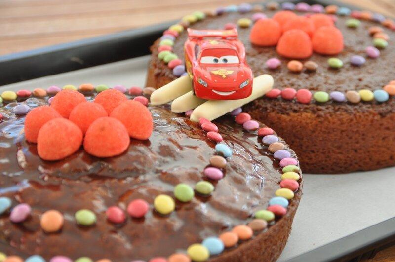 Gâteau d'anniversaire 5 ans Noé 2014 4