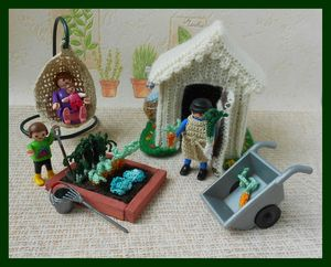playmobile jardin de curé 005