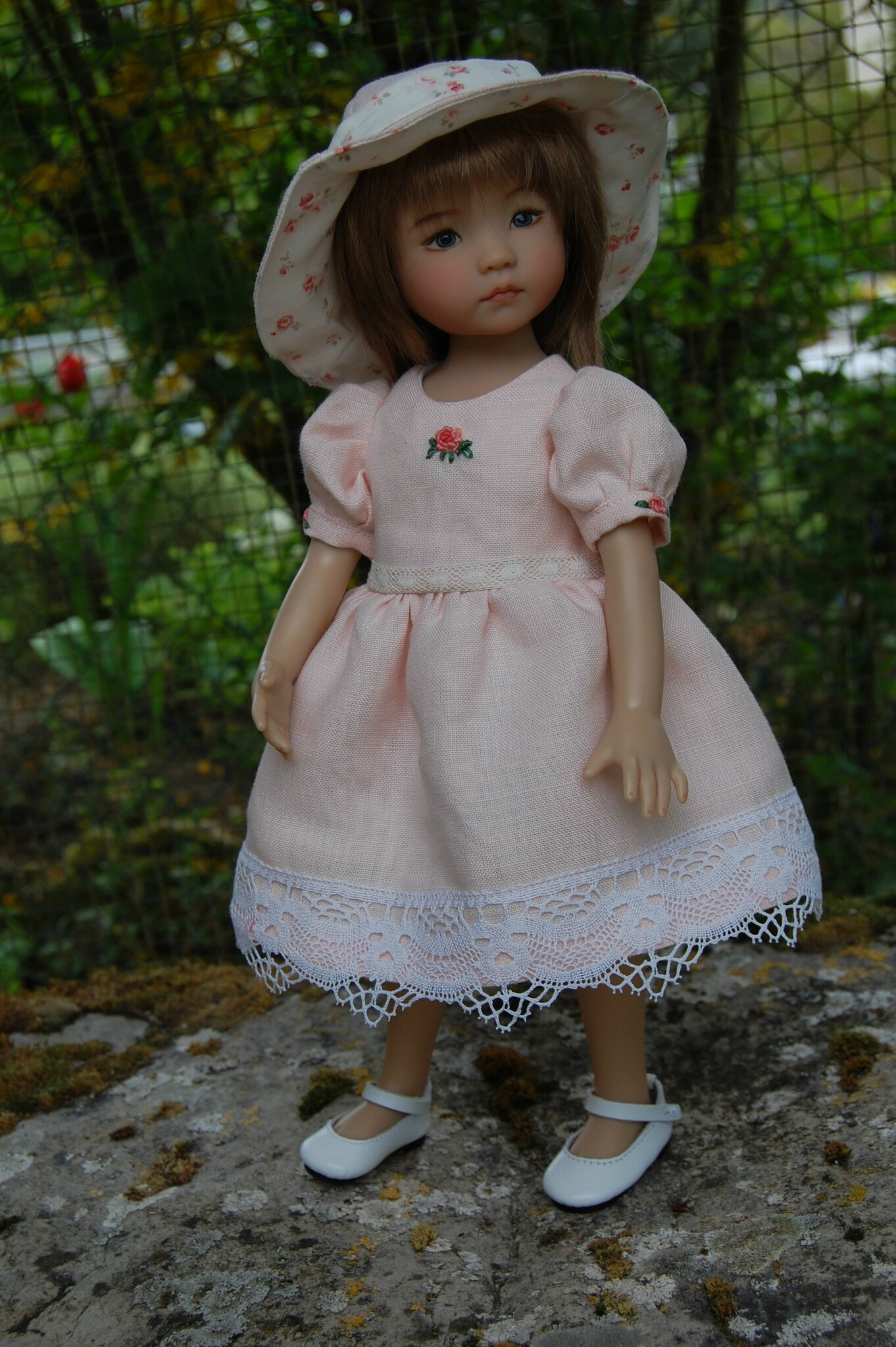 Tenue rose shabby chic le dressing des little darling for Tenue shabby chic