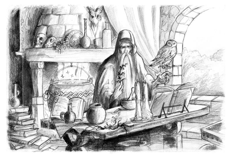 sanctuaire de Merlin
