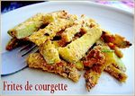 FRİTES DE COURGETTE - version plus claire