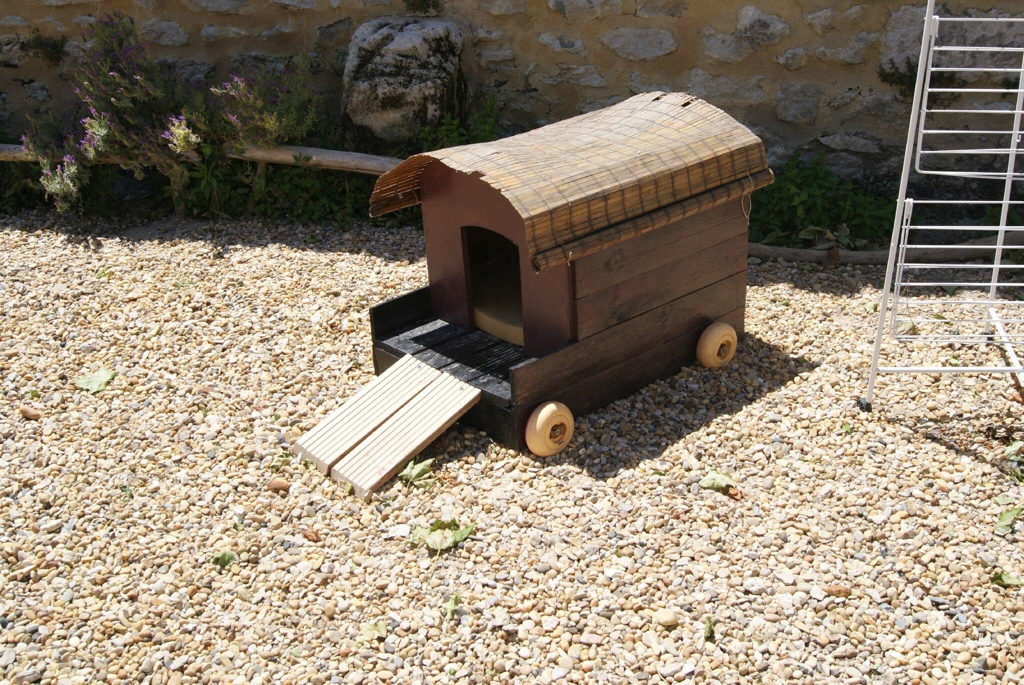 Recup ration et transformation - Comment fabriquer une niche en bois pour chien ...