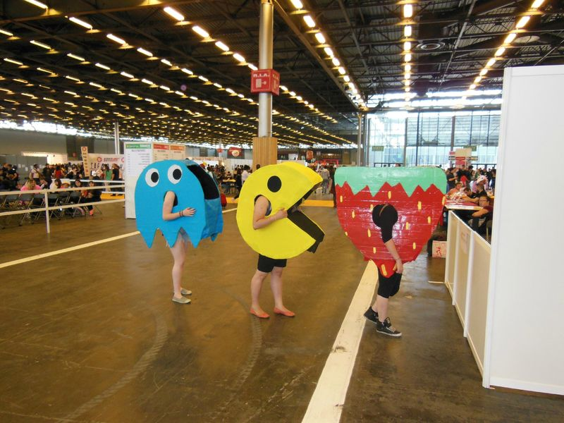 Cosplay Pac-Man
