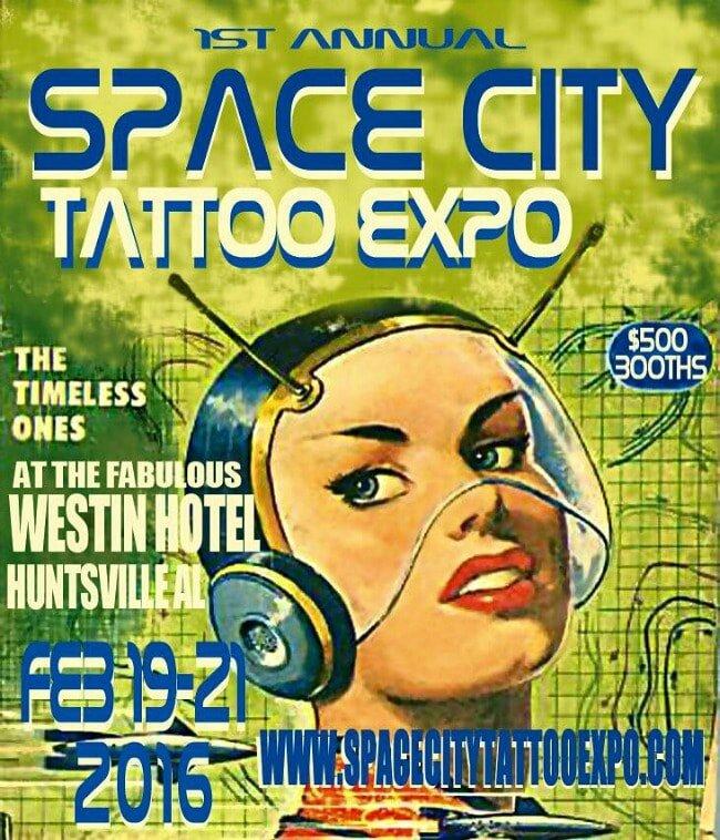 Expo Cité de l'Espace Tattoo 19 - 21 Février 2016 The Westin Huntsville