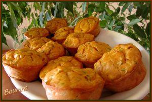 Muffins courgettes et pesto rosso (1)