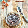 Moelleux au chocolat & noisettes {cuisson à la vapeur}
