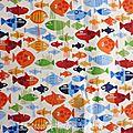 478 - Petits poissons colorés